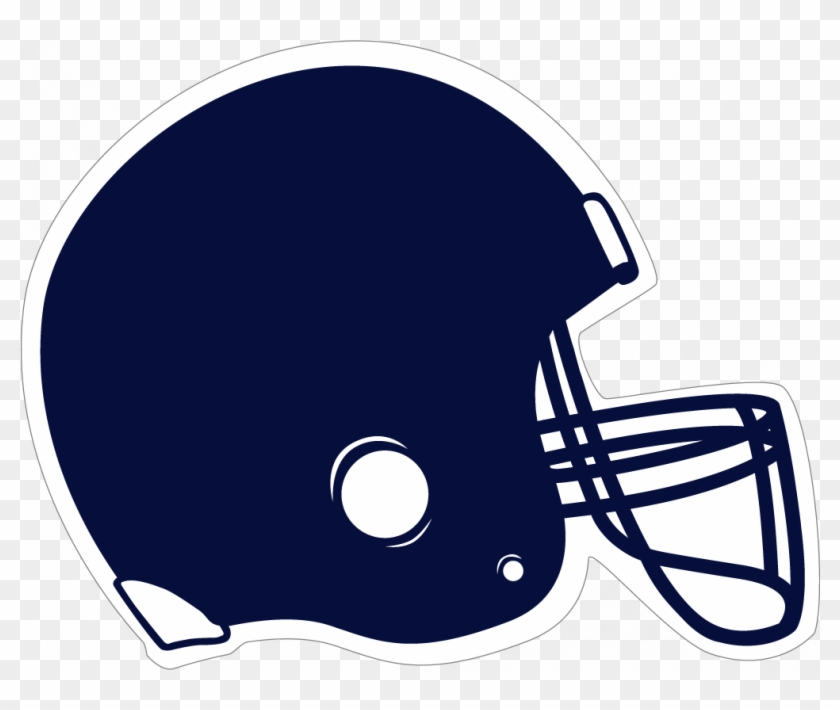 28 Collection Of Blue Football Helmet Clipart.