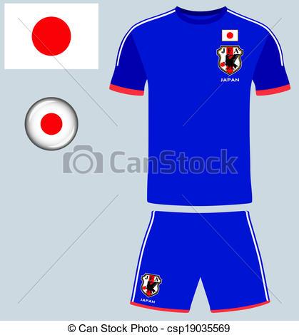 Japan Football Jersey.