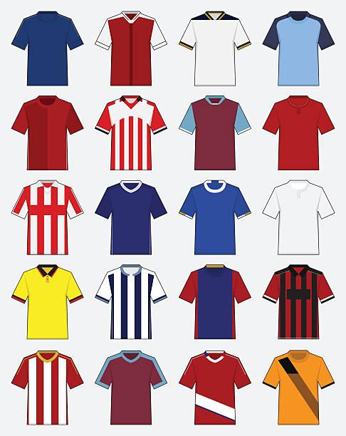 Best Soccer Jersey Illustrations, Royalty.
