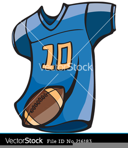 Free Football Jersey Clipart.
