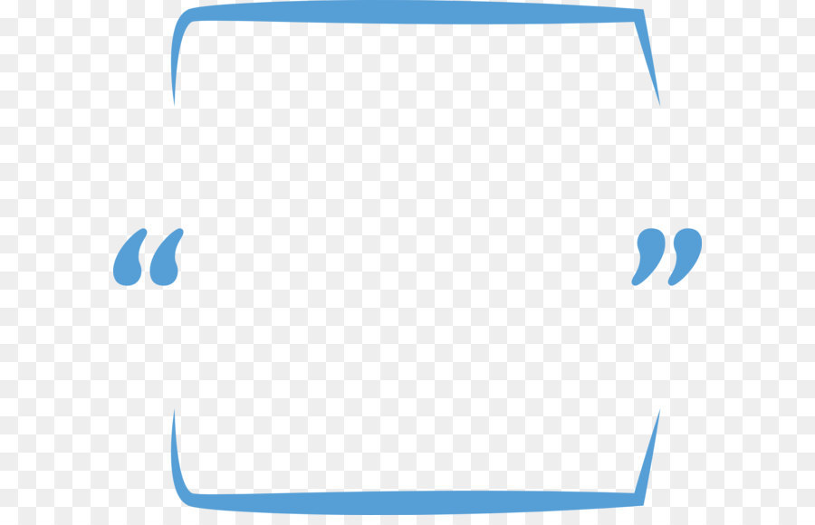 Blue Pattern Frame png download.