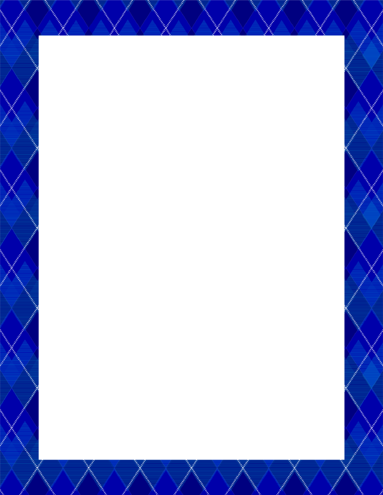 Blue Frame PNG Images Transparent Free Download.