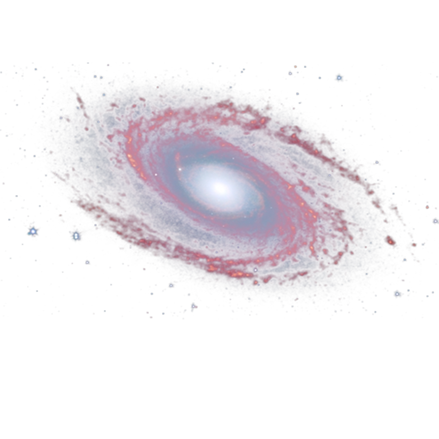 Blue Galaxy Clipart.