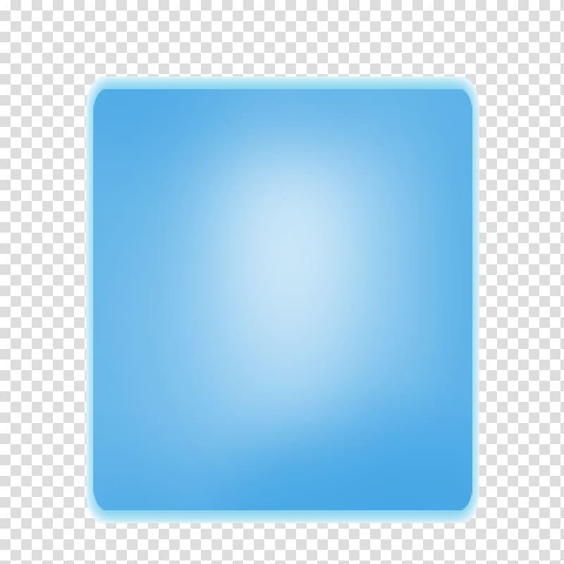 Square, Inc. , Blue gradient glow rectangular border.