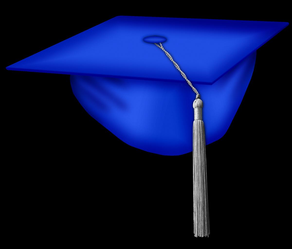 Free Graduation Cap Blue Clipart, Download Free Clip Art, Free Clip.