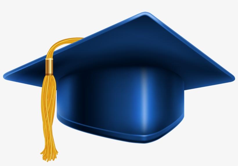 Blue Graduation Cap Png.