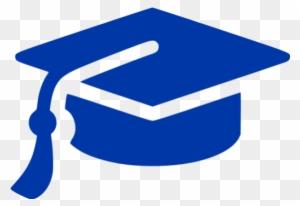 Blue Graduation Cap Clipart, Transparent PNG Clipart Images Free.