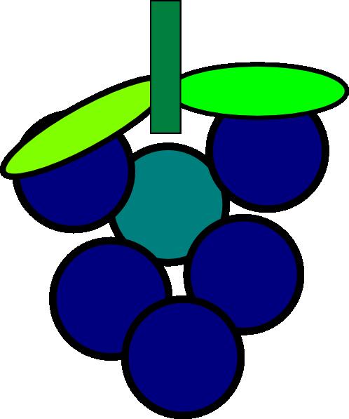 Grapes Clip Art at Clker.com.