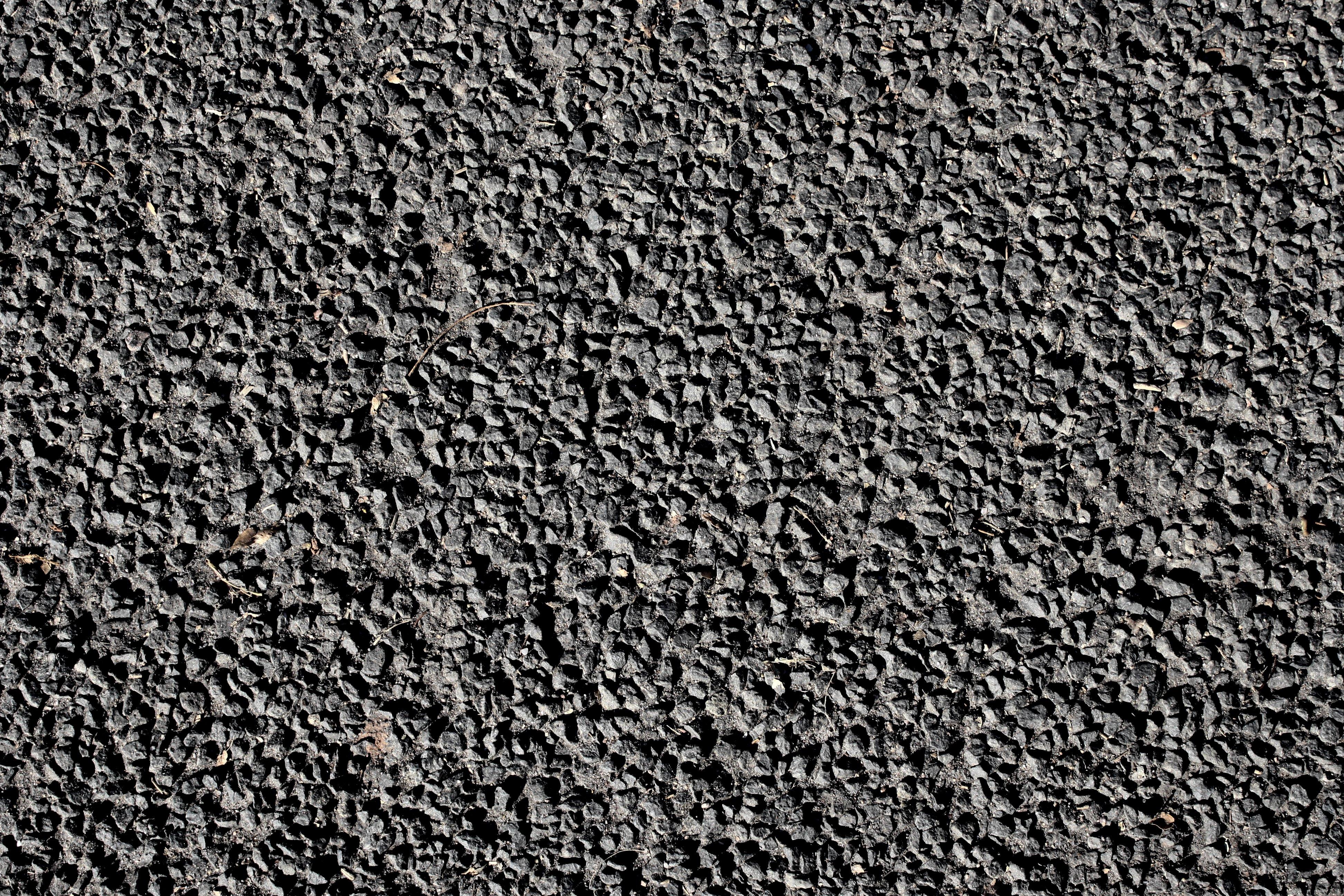 Black Gravel Texture Picture.