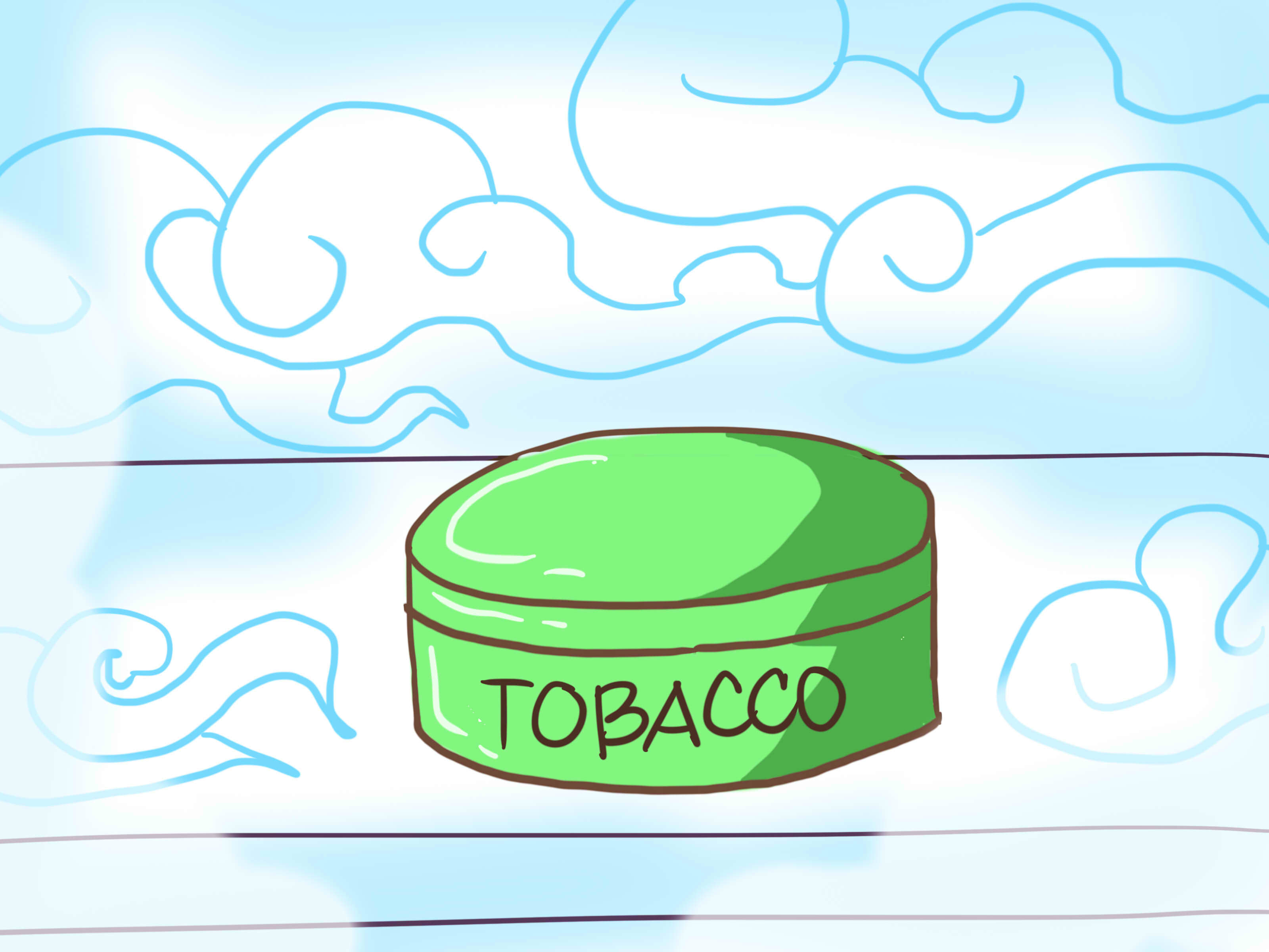 Chewing tobacco clipart #2