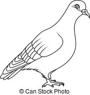 Grey pigeon Vector Clipart Royalty Free. 144 Grey pigeon clip art.