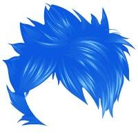 Beverly Hills Jumba Funky Hair Blue.
