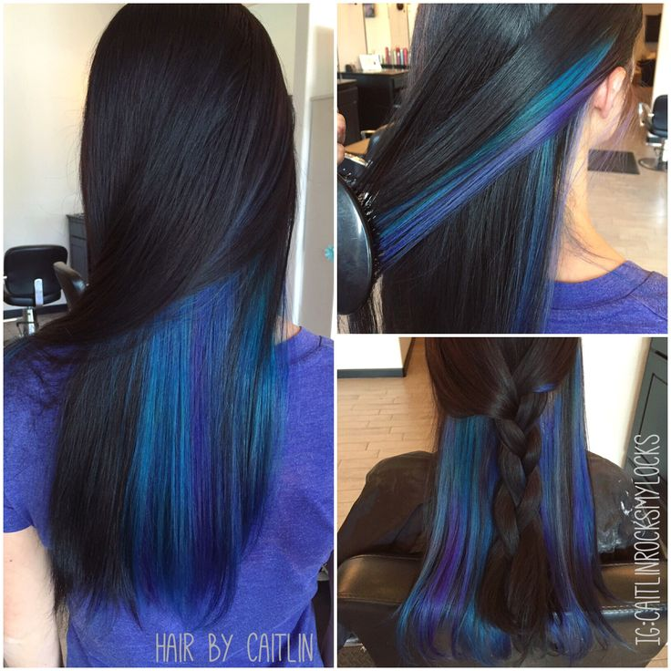 Blue Hair Color Clipart Clipground - Peacock hairstyle color