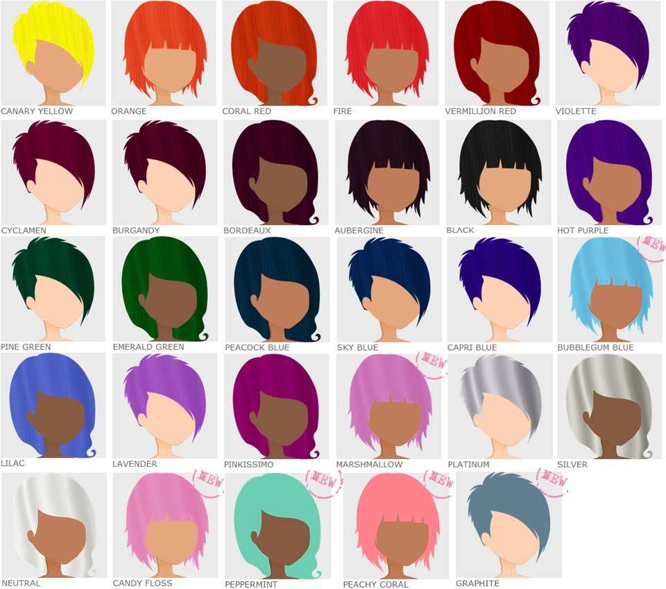 Blue Hair Color Clipart Clipground