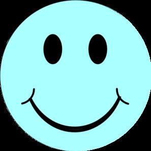 Blue Smiley Face Clip Art at Clker.com.