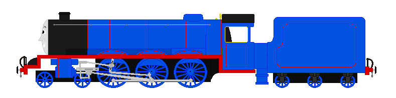 Henry the Blue C1/A1 Engine by Trainman3985 on DeviantArt.