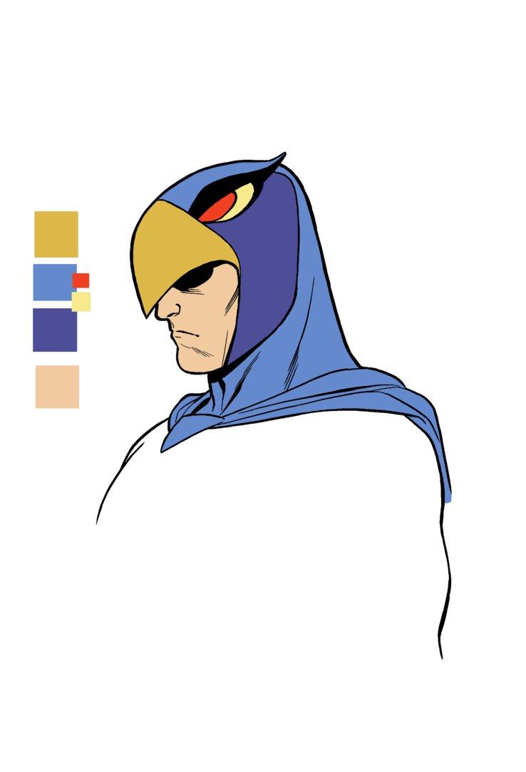 Blue Falcon by Clayton.