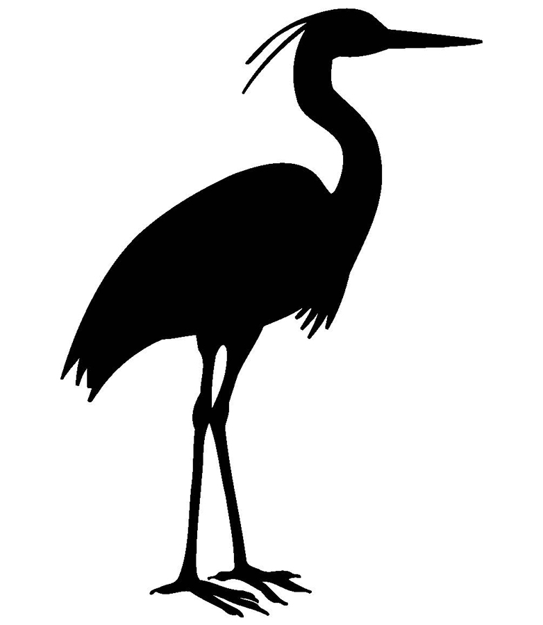 Blue Heron Silhouette (107+ images in Collection) Page 1.