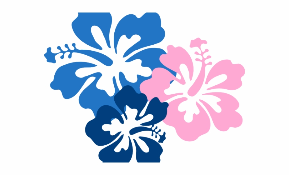 Hibiscus Clipart Hawaii Flower.