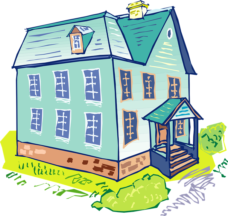 Free vector graphic: House, Blue, Home, Architecture.