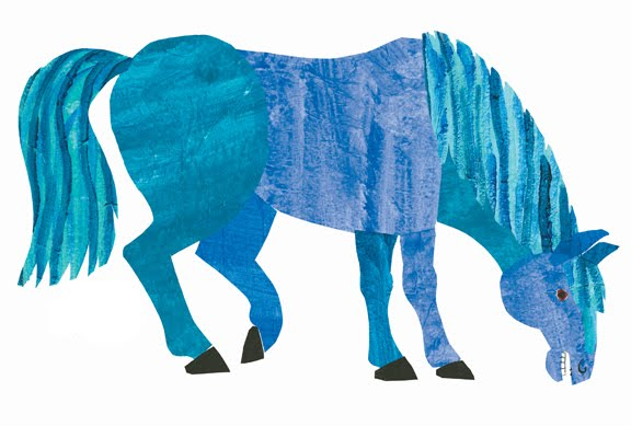 Eric Carle Blog: Blue Horse, Blue Horse, What Do You See?.