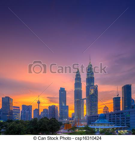 Stock Photo of Blue Hour.