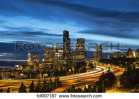 Picture of USA, Washington State, Seattle, Dr. Jose Rizal Park.