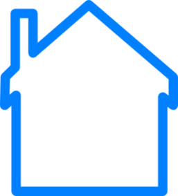 Outline Of House Clipart.