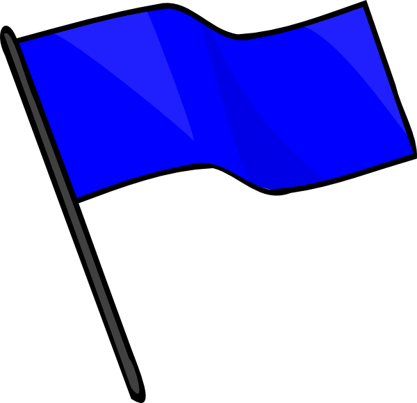 Blue Flag SVG Downloads.