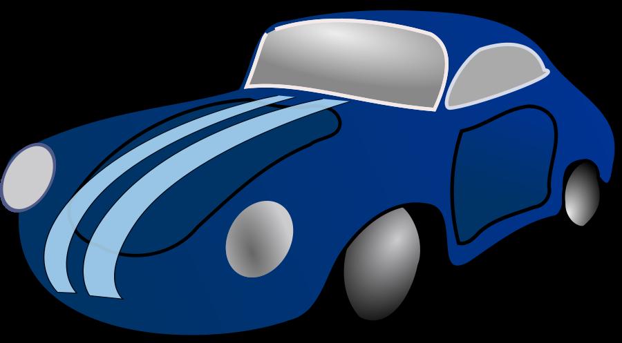 Blue Car Clipart.