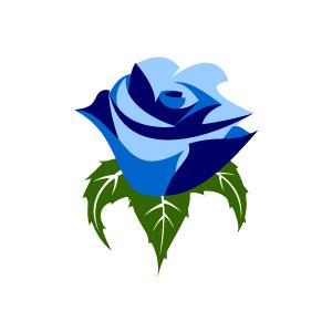 Blue Design Clipart.