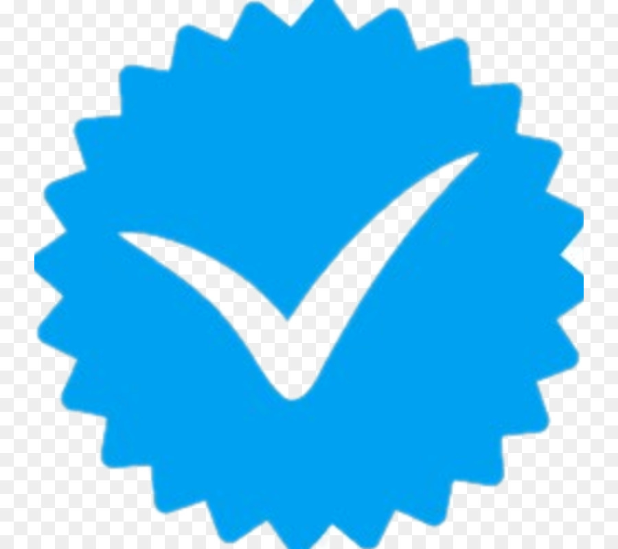 Instagram Verified Symbol Emoji png download.