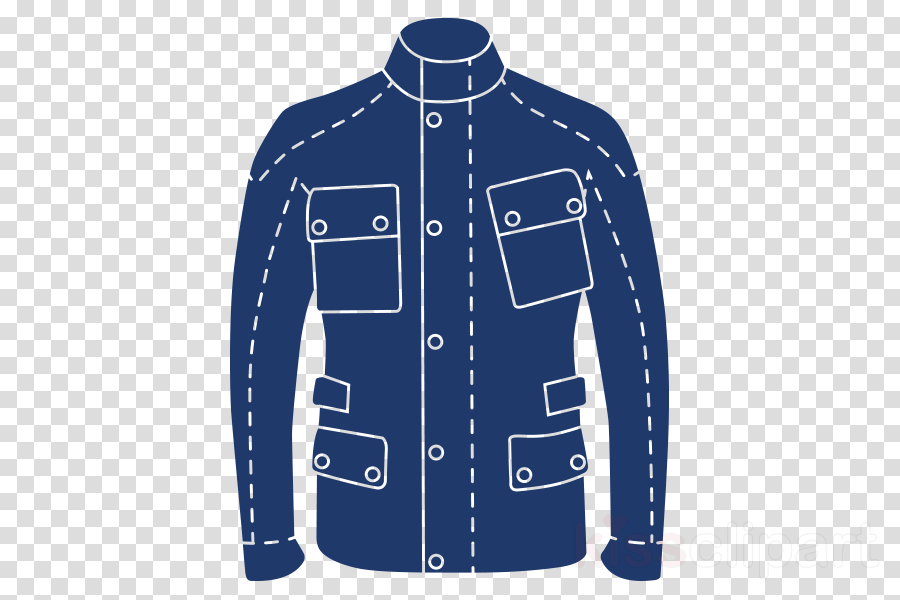 clothing blue jacket sleeve outerwear clipart.