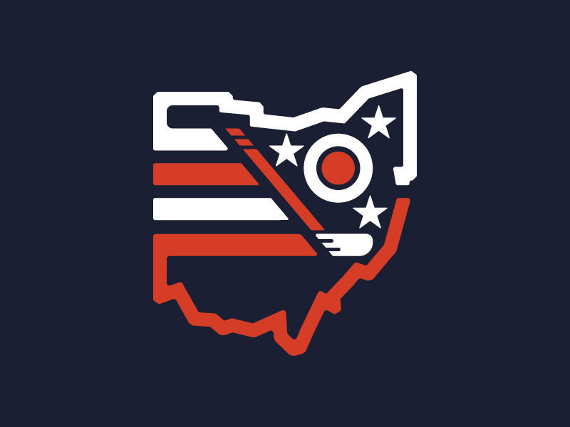 Columbus Blue Jackets Throwback Logo by Benjamin Howes on.