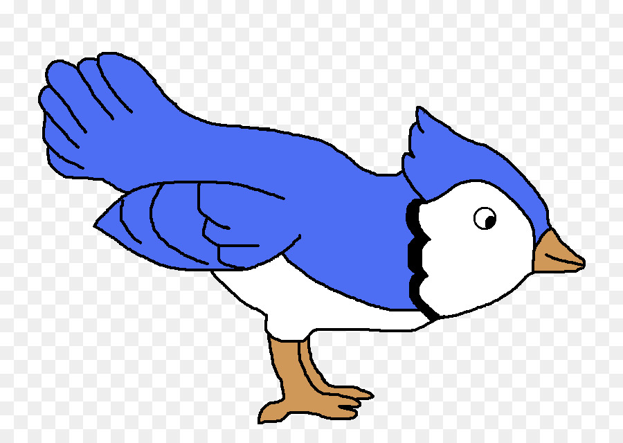 Bird Line Art png download.