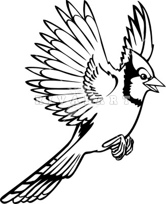 Flying Blue Jay Clipart Art & Clip Art Images #28289.