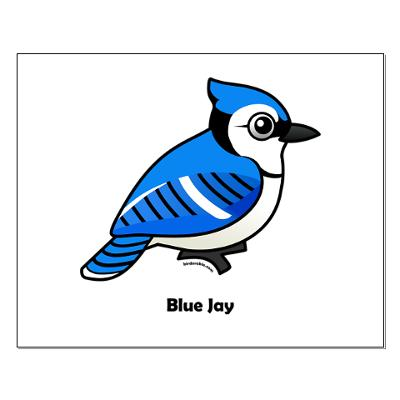 Free Cartoon Blue Jay, Download Free Clip Art, Free Clip Art.