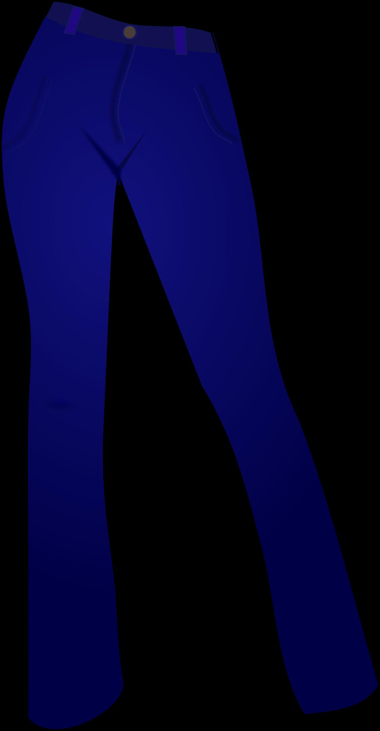 Blue jeans clipart.