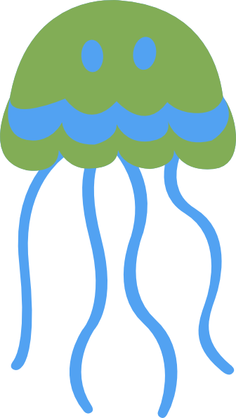 Jellyfish clipart png.