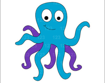 Cute Jellyfish Clipart.