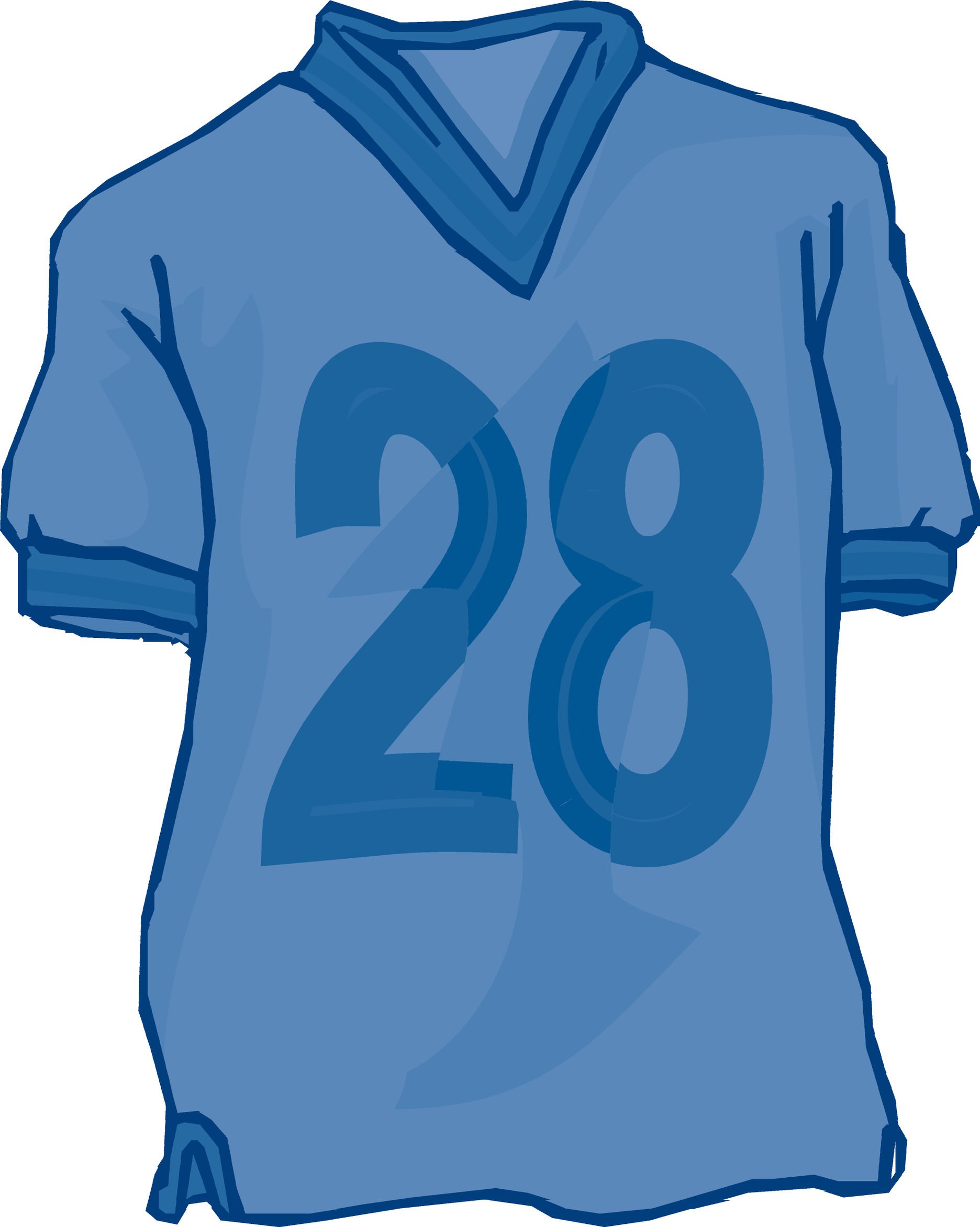 Football Jersey Clipart.