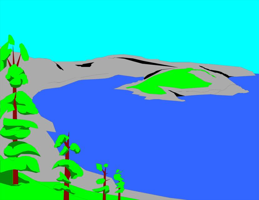 Lake Clipart.