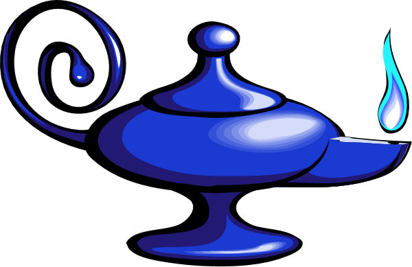 Blue magic clipart.