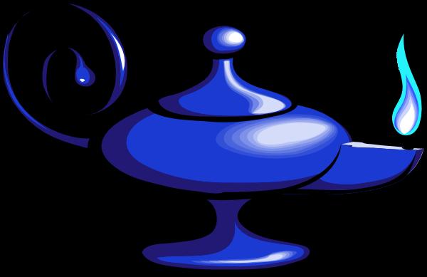 Blue magic clipart.