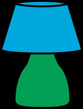 Lamp shade clip art.