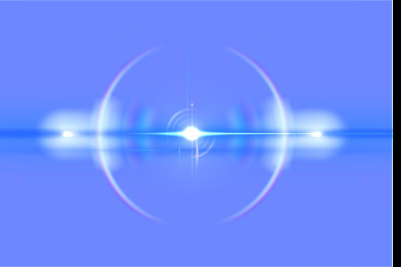 Download Free png blue lens flare png.