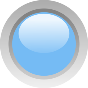 Light Blue Circle Clipart.