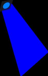 Deep Blue Light Clip art.