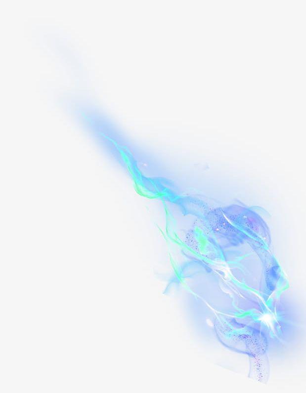 Fluttering Blue Light Effect PNG, Clipart, Background, Blue.