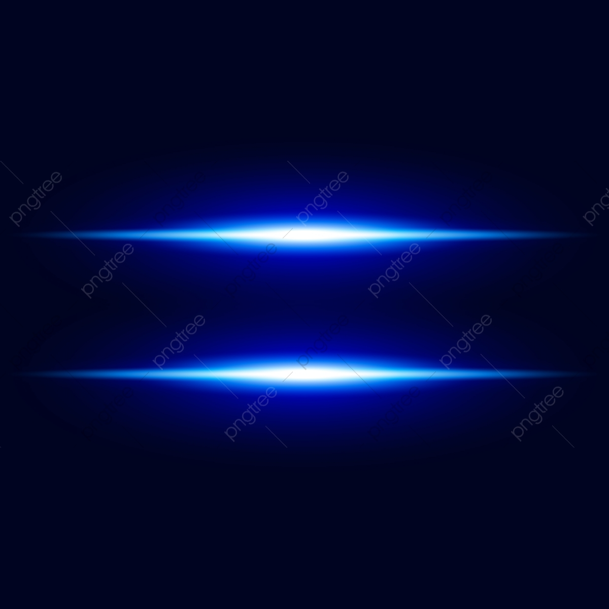 Abstract Blue Light Effect With Shine Bright Vector Background.